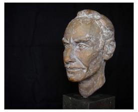 Portret in Brons van Arjan . 2004 . xxxxxxxx