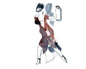 tangopaar . 2014 . 30x29
