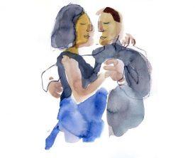 tangopaar . 2014 . 35x27