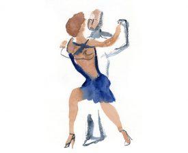 tangopaar . 2014 . 30x21
