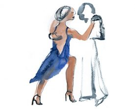 tangopaar . 2014 . 30x23