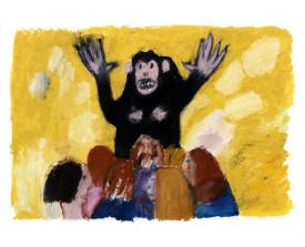Aap in Artis . 1993 . 50x70