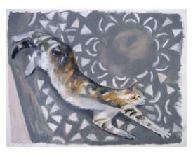 Poes 'Guapa' . 2004 . 50x65