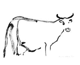 Koe, Frankrijk . 2003 . inkt . 14x22