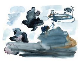 Wolkenlucht, Zaandam . 2001 . 30x40