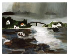 Noorwegen . 2001 . olie op linnen . 90x110