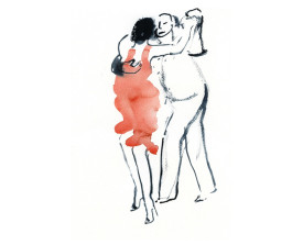 Tangopaar . 2014 . 30x22