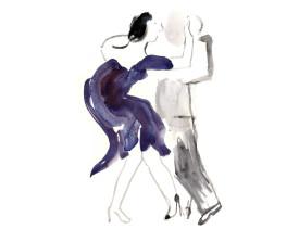 Tangopaar . 2013 . 40x30