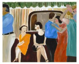 Buenos Aires tangosalon . 2000 . olie op linnen . 90x110