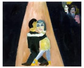 Buenos Aires tangopaar . 1995 . olie op linnen . 50x60