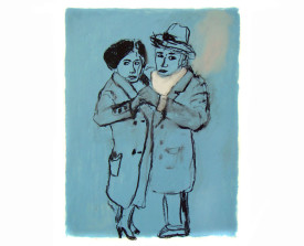 Tangopaar . 2009 . 65x50