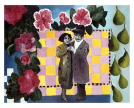 Buenos Aires tangopaar . 1996 . olie op linnen . 70x90