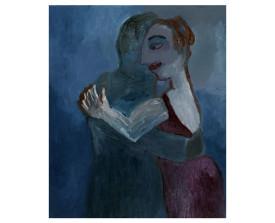 Buenos Aires tangopaar . 1992 . olie op linnen . 60x50