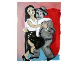 Pepito & Martha . 2009 . 65x50