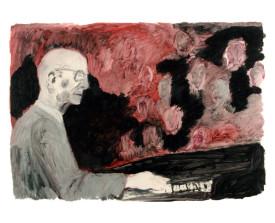 Osvaldo Pugliese . 1993 . 50x70