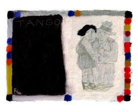 Buenos Aires tangopaar . 1997 . 24x32