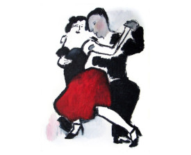 Tangopaar . 2010 . 40x30