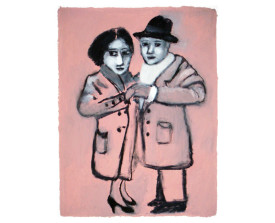 Tangopaar . 2011 . 65x50