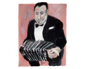 Aníbal Troilo . 2011 . 65x50