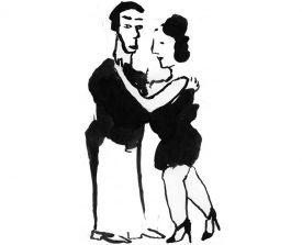 tangopaar . 2001 . inkt . 21x14