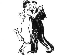 tangopaar . 2008 . inkt . 18x12