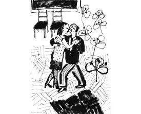tangopaar . 1997 . inkt . 21x14