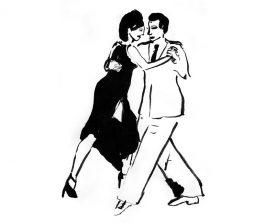 tangopaar . 2000 . inkt . 21x14 ●
