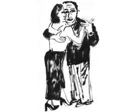 tangopaar . 1997 . inkt . 21x15 ●