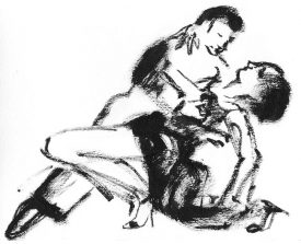 tangopaar . 2005 . inkt . 15x20