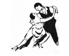 tangopaar . 2001 . inkt . 14x21 ●