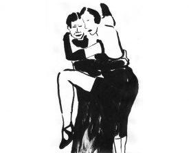 tangopaar . 2002 . inkt . 21x14 ●