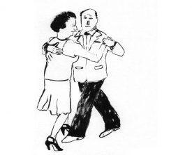 tangopaar . 1998 . inkt . 21x15